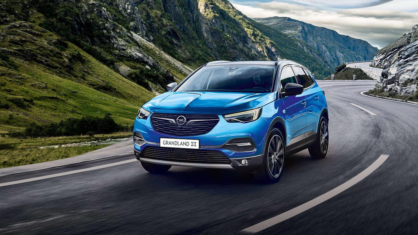 Opel Grandland X, зовнішній вигляд