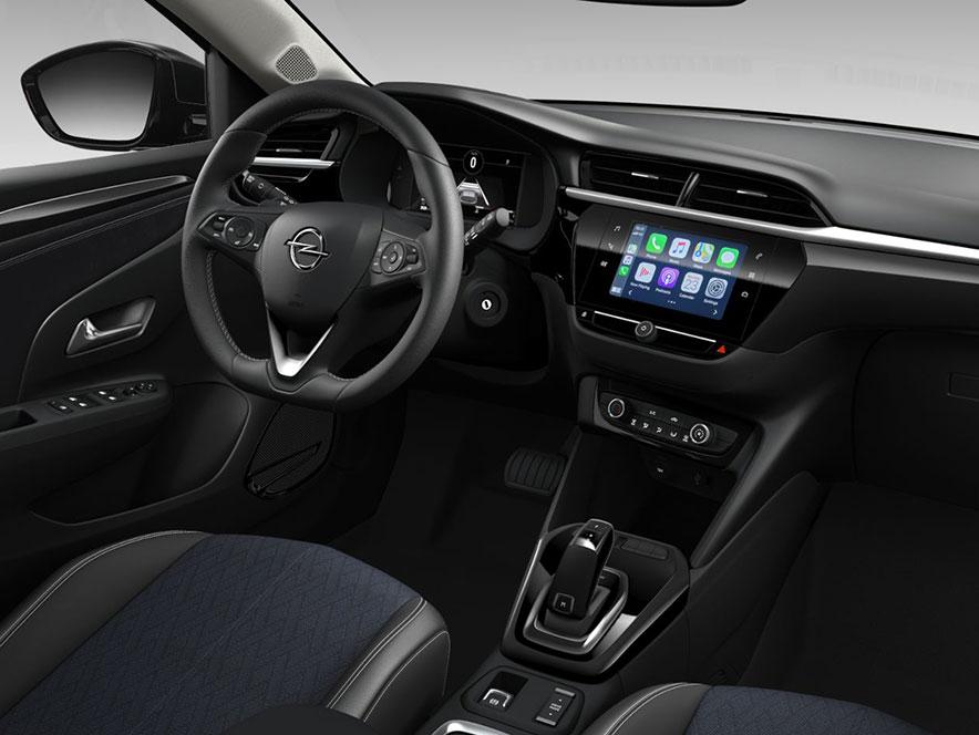Інтер'єр салону Opel Corsa