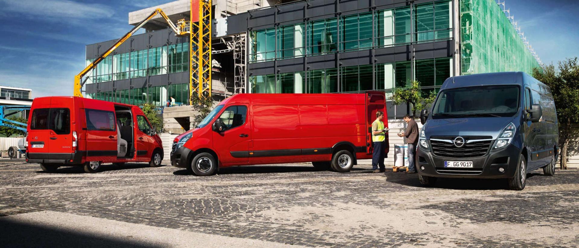 Opel, Movano, модельний ряд, зовнішній вигляд