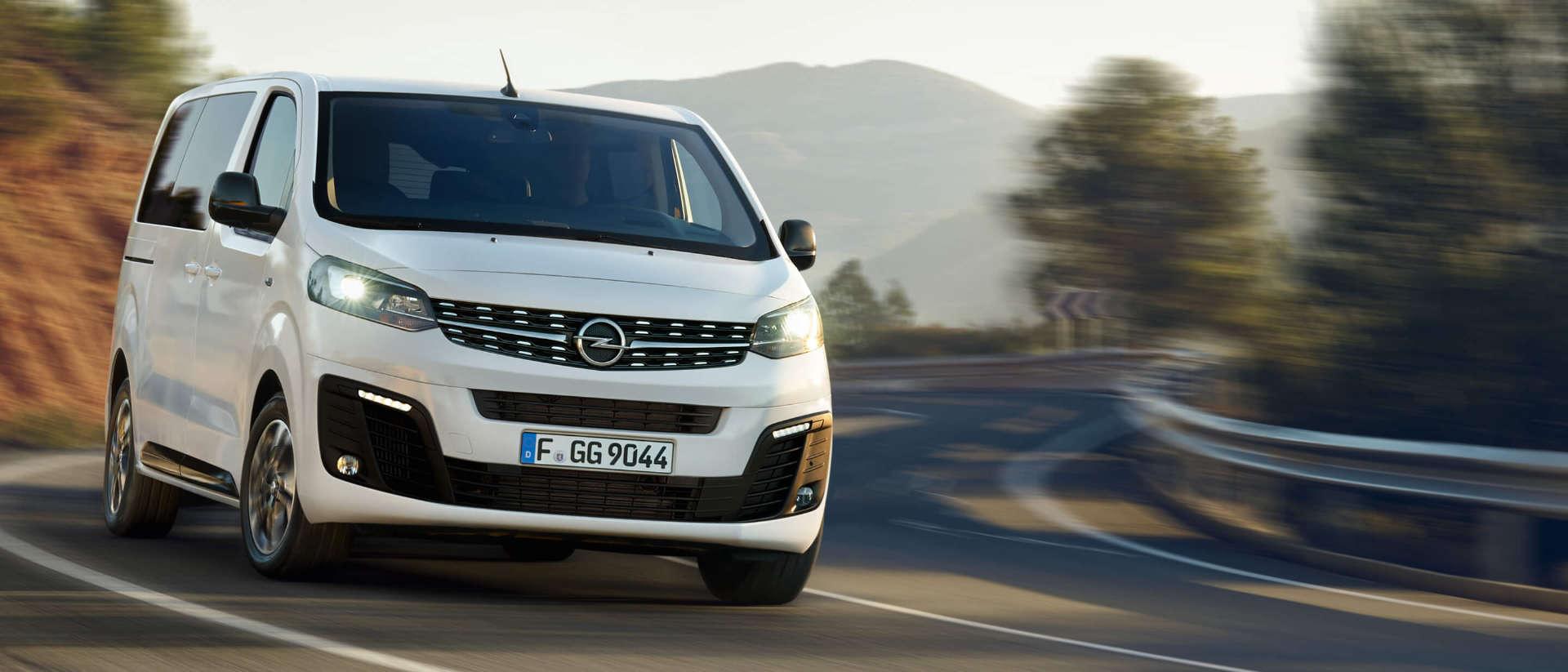 Opel Zafira Life, сімейний мінівен